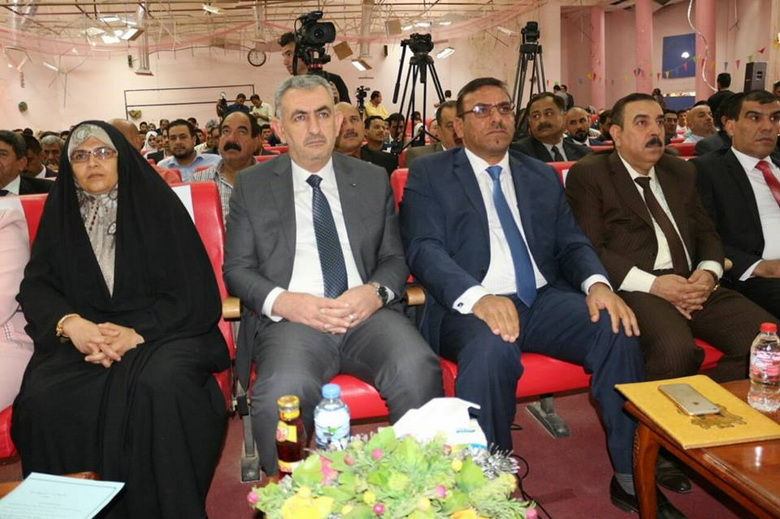 Anbar University Hosts Second Reconstruction Exhibition
