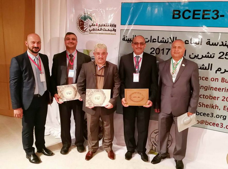 College of Engineering  participate in the Third International Conference for Construction Engineering, in  Egypt