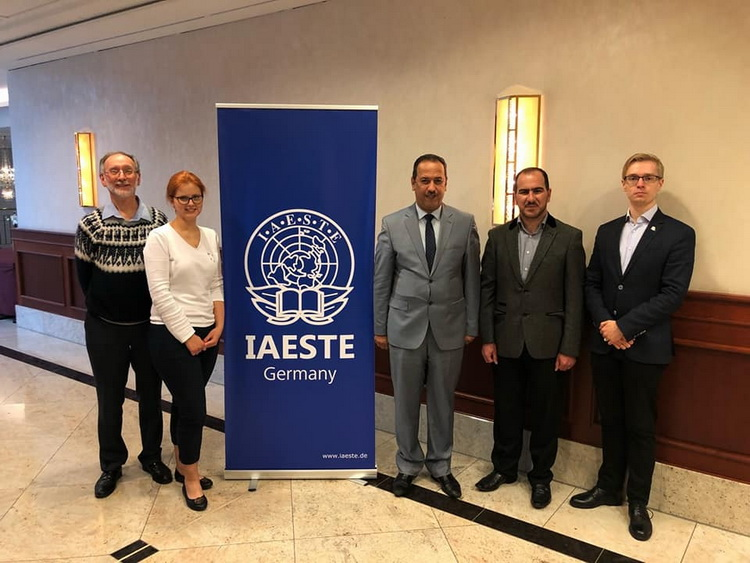 UOA Takes part in the 71 International Conference for IAESTE Organization